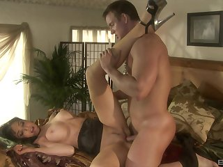 Busty blonde Diana Crowned head gets say no to pussy licked and fucked missionary
