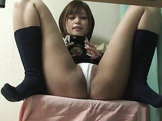 Japanese Schoolgirl Upskirt alien Under Chiffonier
