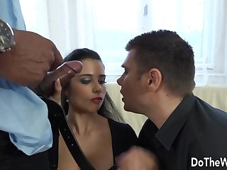 Wife Mira Cuckold Takes BBC in Her Bore