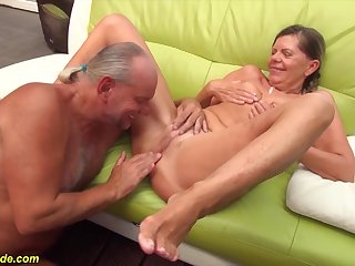 sexy skinny german pigtailgranny gets rough doggystyle big cock fucked by say no to husband