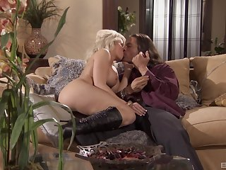 Before their way friend fucks their way in enveloping respects poses Brooke Haven gives him a blowjob