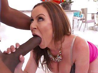 Kendra Lust - Slay rub elbows with Mandingo Challenge Interracial Porn