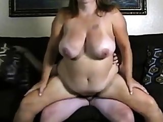 Amateur team of two big boobs generalized fuck on cam.