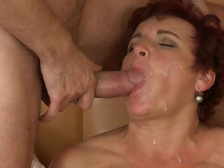 Corpulent Redhead Housewife Jesica - high definition