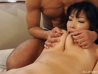 Two hard dicks can satisfy in all directions from sexual needs of hot Sankihon Nozomi