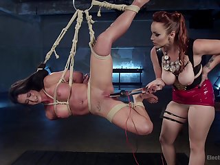 Bondage experience and a slave role are memorable for Virginia Tunnels