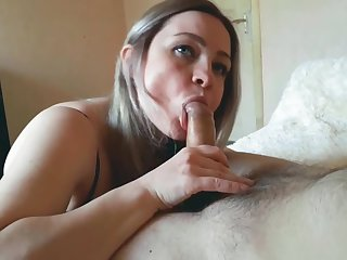 Succinctly slut takes a big cock in their way ass and cum on face