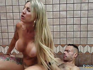 Amateur latina Camila Costa hardcore action
