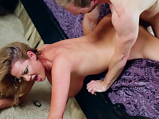 Sexy spoken and a great bang for buxom MILF Kelly Madison