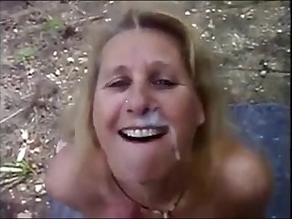 Mature wife dogging sucking stranger dick traverse b recover a fat facial