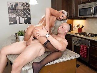 Never ending orgasms while this premium blonde rides hard