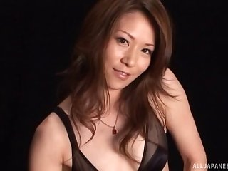 Homemade POV video of a cock hungry Japanese wife having sex