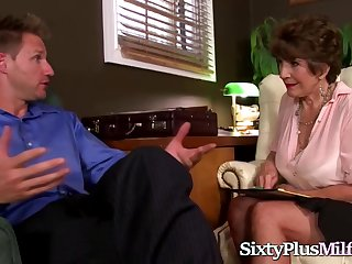 Gotporn On touching A Horny Granny And Her Lover